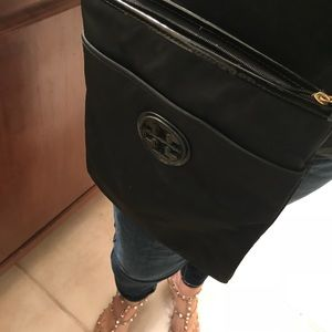 Like brand new! Tory Burch Nylon Crossbody